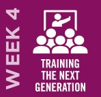 Training the Next Generation - Week 4 // May 25–31, 2020