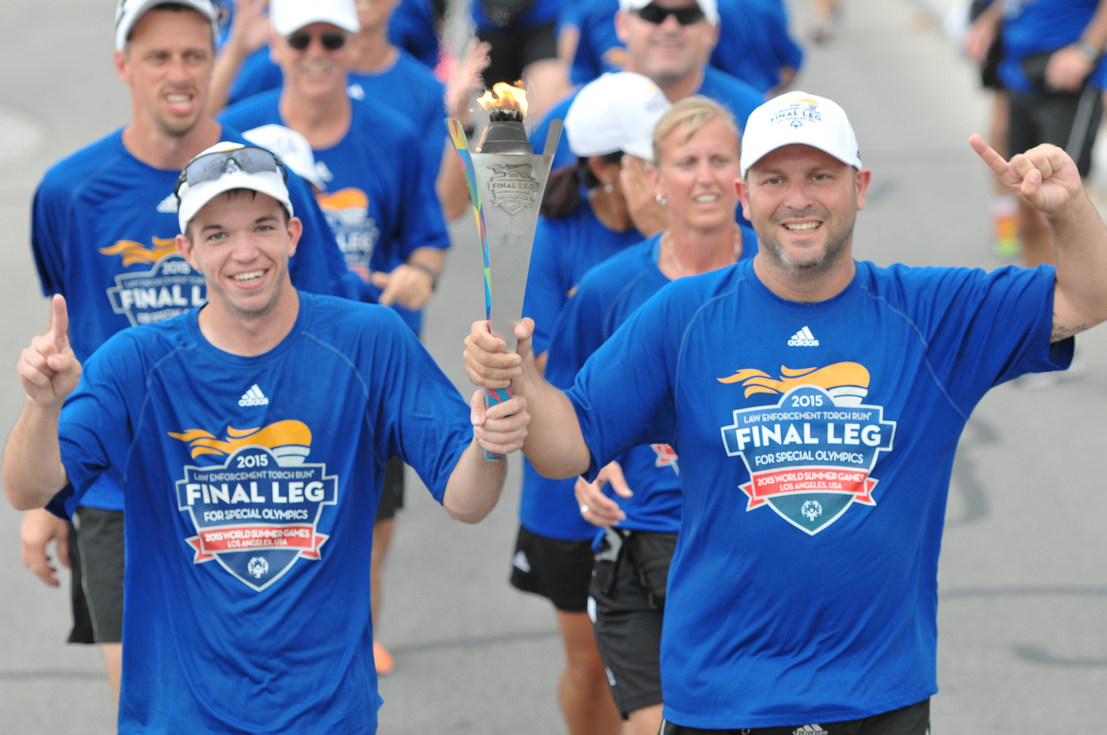 Speical Olympics Torch Run 2